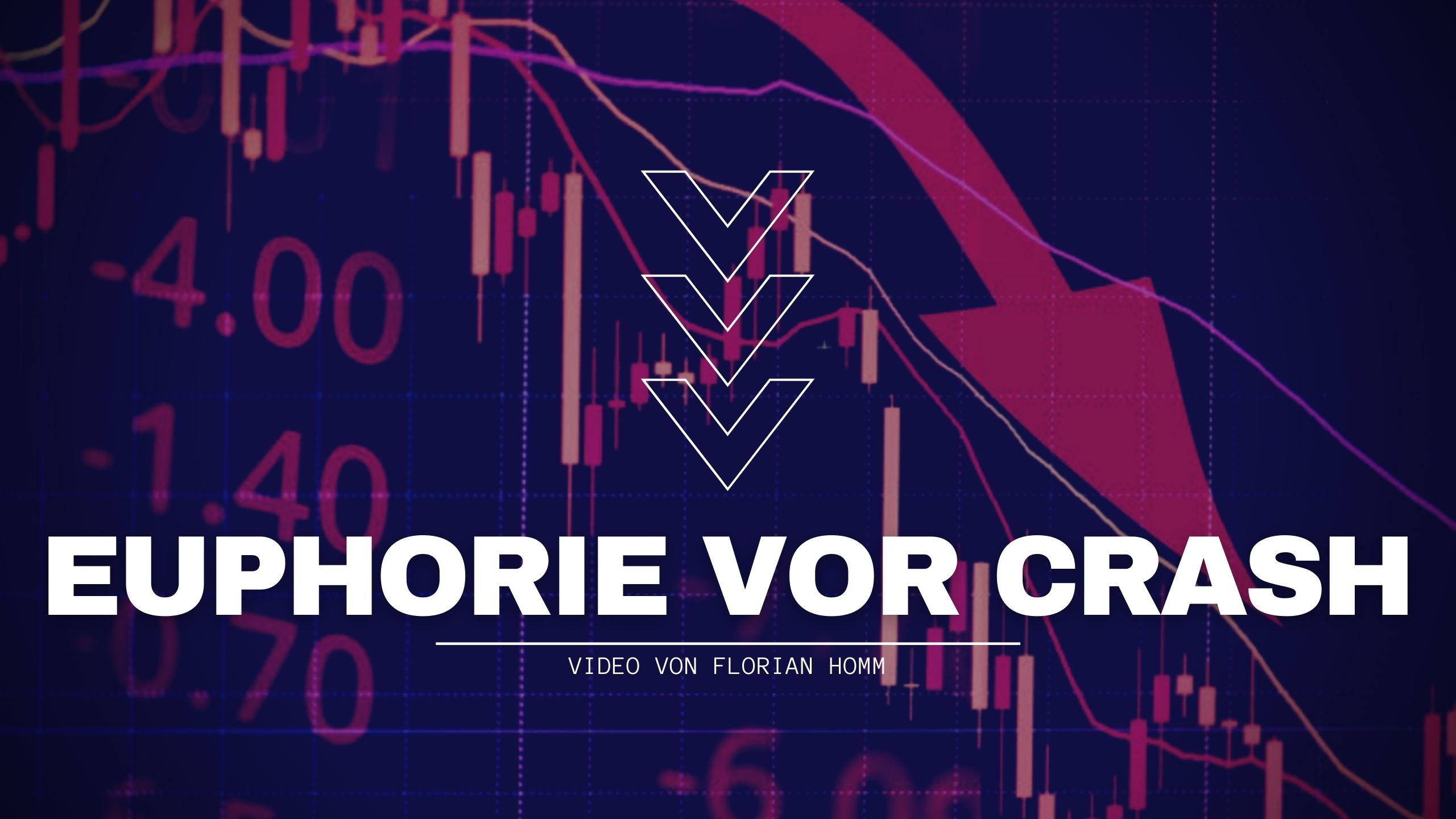 Börsencheck von Florian Homm - Eurphorie vor Crash