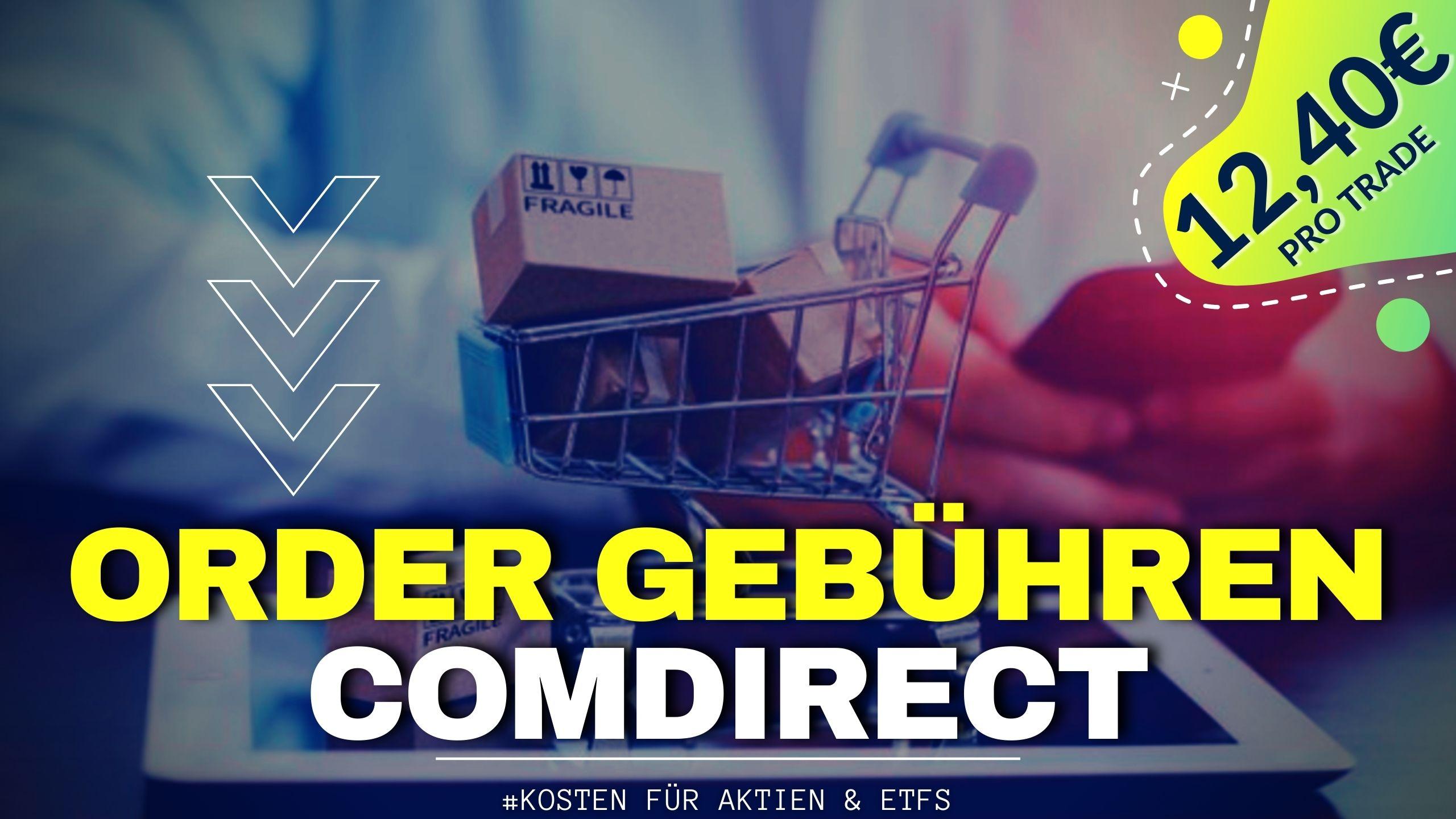Orderkosten Aktien Kaufen Comdirect