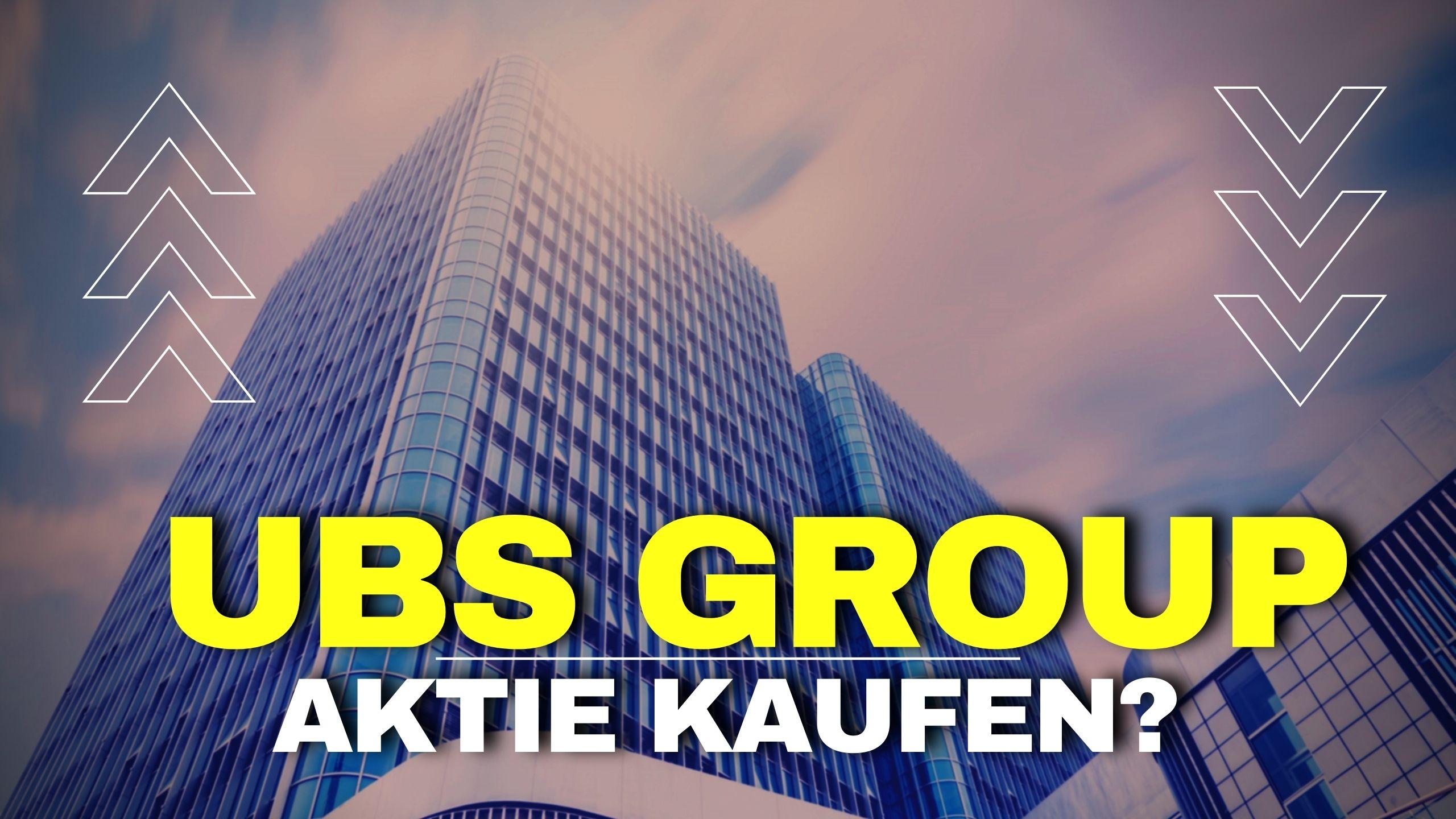 UBS Group Aktie kaufen 2021