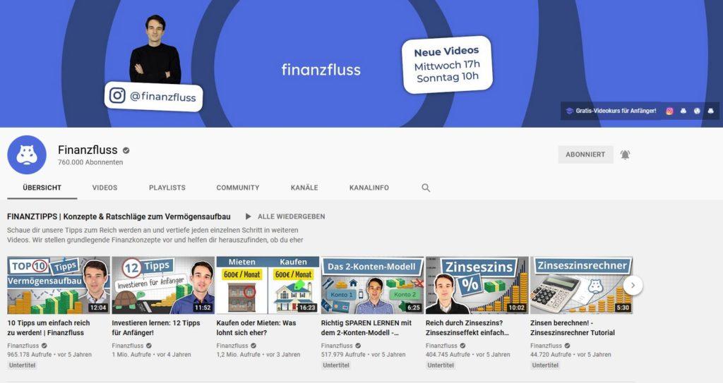 Minimalistisches Depot von Thomas Kehl [Finanzfluss] - Trendbetter.de - Aktien & Börse