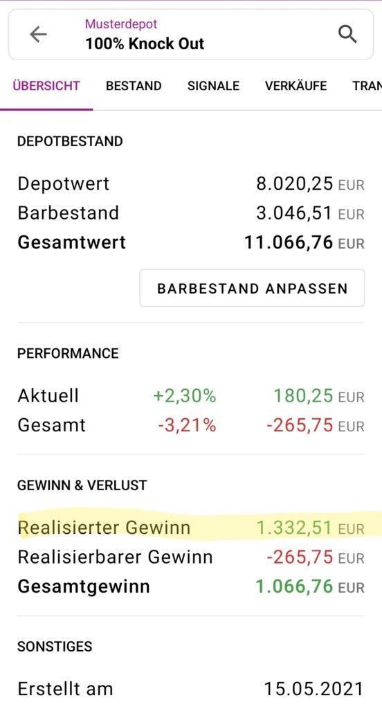 Meine Knock-Out-Zertifikate-Erfahrung [+1332,50 €] - Trendbetter.de - Aktien & Börse