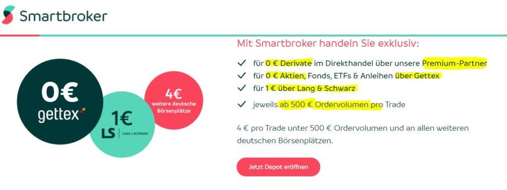 Smartbroker Knock-Out-Zertifikate