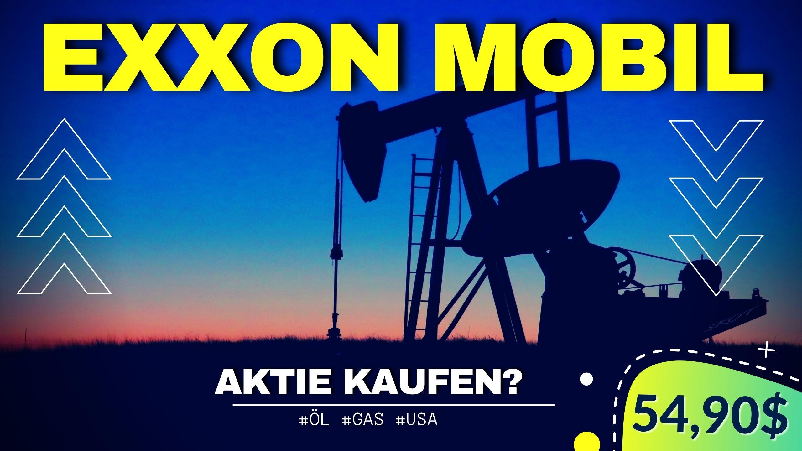 Exxon Aktie kaufen