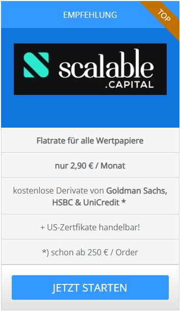 Online Broker Scalable Capital